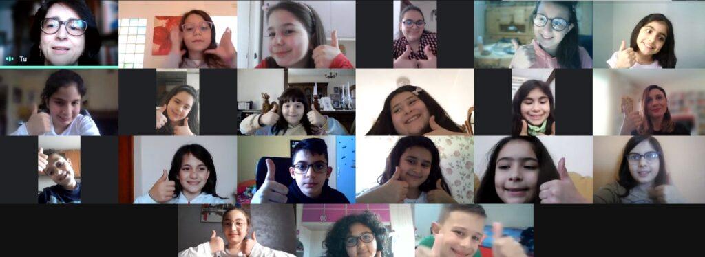I bambini dell'IC Mater Domini Catanzaro: Grazie Fantàsio!
