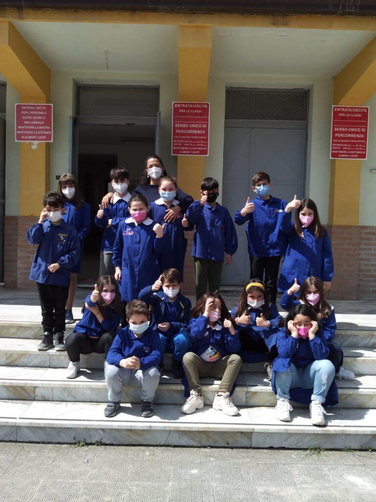 L'entusiasmo della scuola primaria S. Severina-Roccabernarda